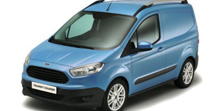 La Ford Transit Courier debuta en Birmingham