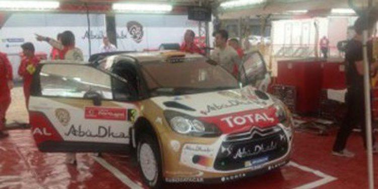 Dani Sordo scratch en el QS del Rally de Portugal