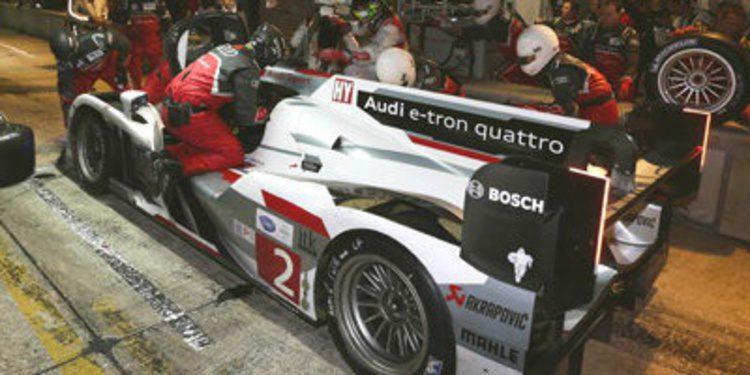 Los pilotos de Audi miran a Silverstone