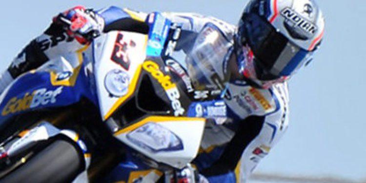 Melandri golpea en los FP1 de SuperBikes en MotorLand