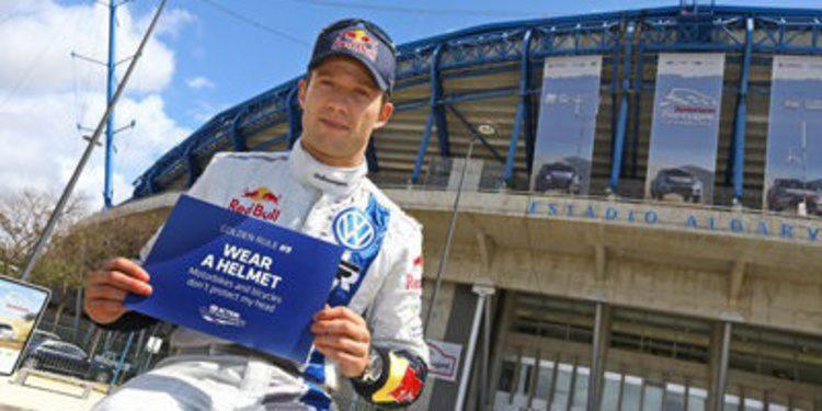 Sebastien Ogier comanda el Rally de Portugal  en su primer día