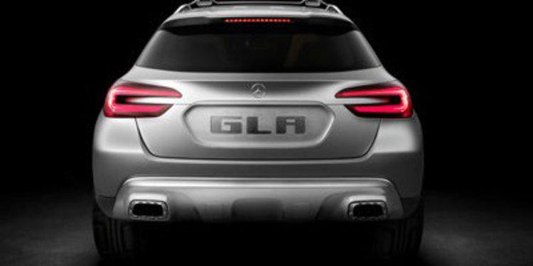 Mercedes Concept GLA, el SUV compacto de Stuttgart