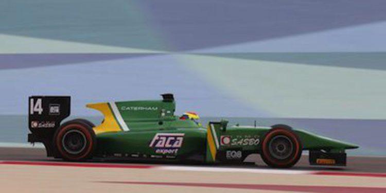 Canamasas y Giovesi penalizados tras la calificación de GP2 en Bahréin