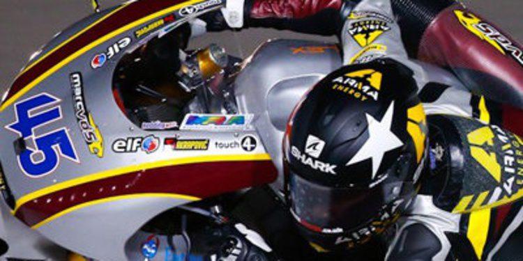 Scott Redding manda en unos intensos FP2 de Moto2