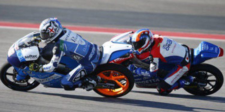 Alex Rins muestra poder en los FP3 de Moto3 en Texas