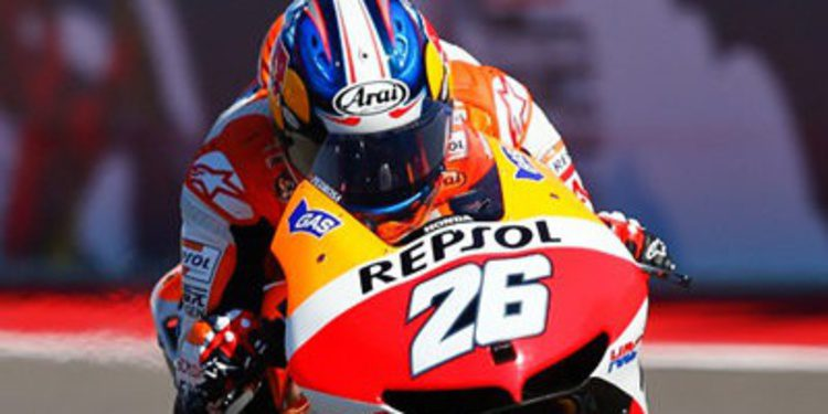Pedrosa se anota el Warm Up del GP de las Américas