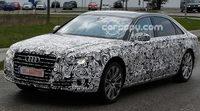 Audi prepara el restyling del A8