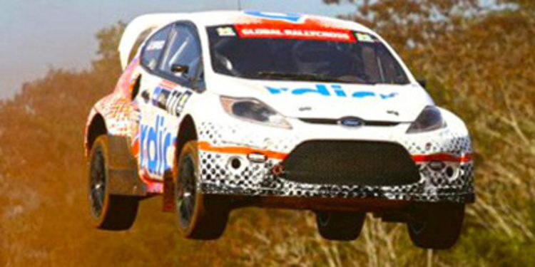 Scott Speed vence en el Global Rallycross en Brasil