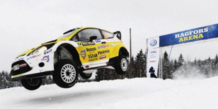 ¿Pontus Tidemand con un Fiesta WRC en Cerdeña?