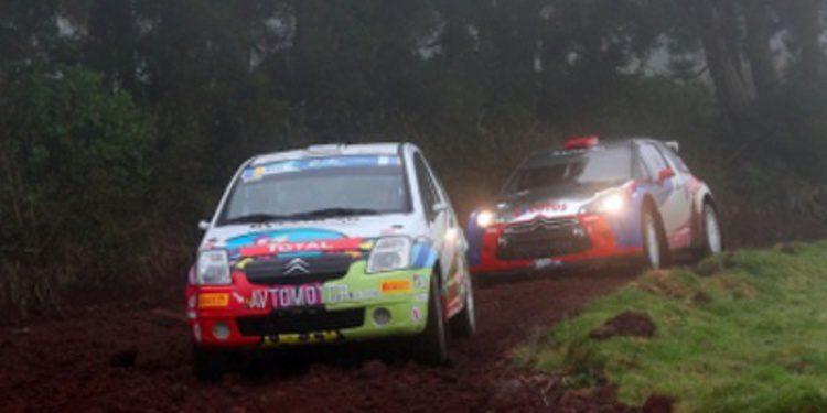 Test del Rally de Azores con Kubica como referencia