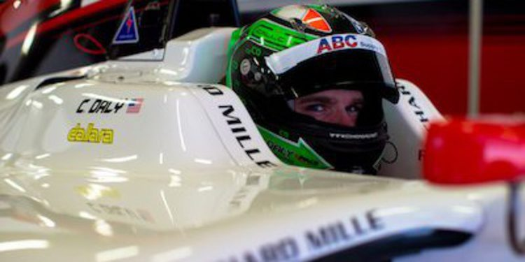 Conor Daly confirma su continuidad con ART en GP3