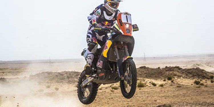 Marc Coma gana el Sealine Rally de Catar