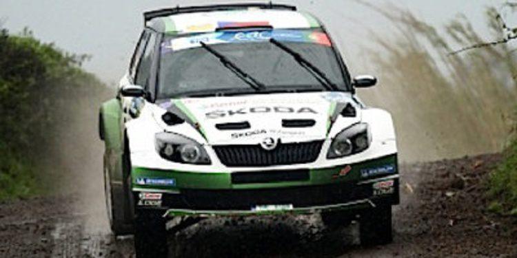 Jan Kopecký gana el Rally de Azores del ERC