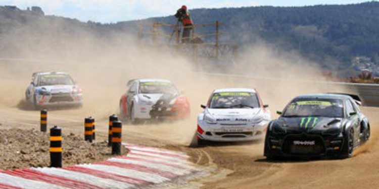 Liam Doran gana la cita del RallycrossRX en Montalegre