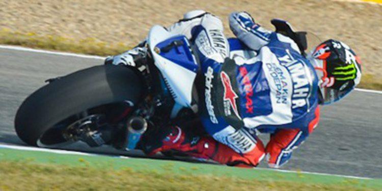 Jorge Lorenzo impone su ley en Jerez durante los FP2