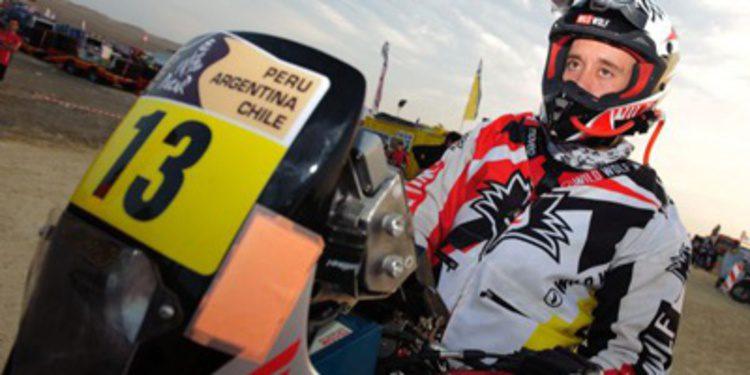 Gerard Farrés sufre un aparatoso accidente