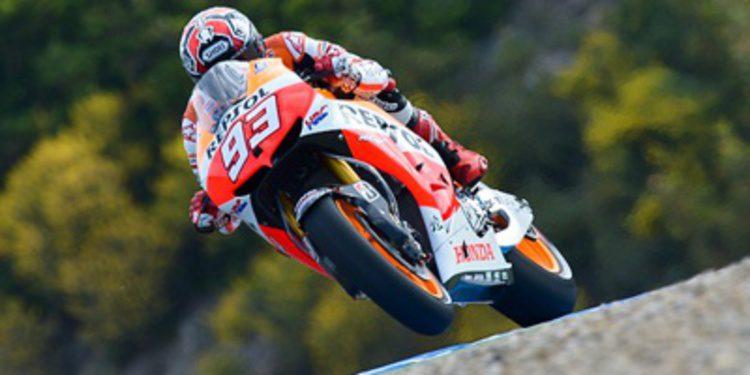 Marc Márquez se lleva el Warm Up del GP de España