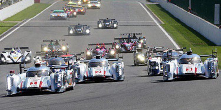 Audi copa el podio del WEC en Spa