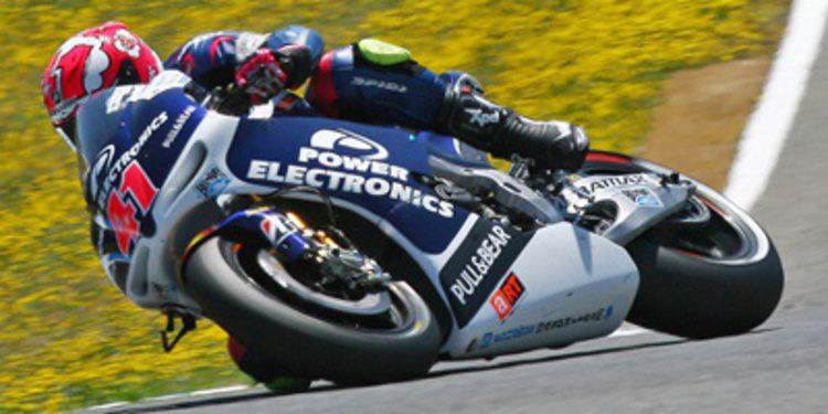 Randy de Puniet y Espargaró, nuevo duelo CRT en Le Mans