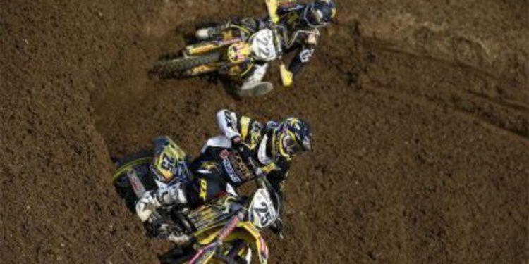 Desalle y Strijbos correrán 2 rondas del AMA Motocross