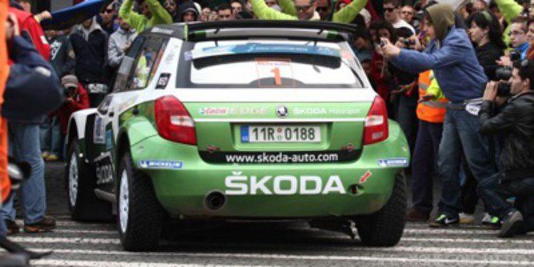 El Europeo de Rallies celebra el Tour de Corse