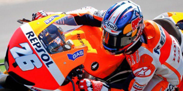 Dani Pedrosa domina los FP1 del GP de Francia