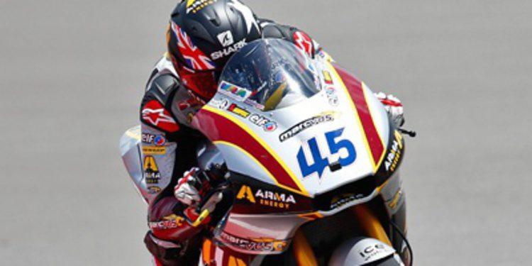 Los FP1 de Moto2 en Francia son de Scott Redding