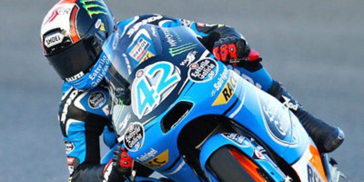 El granizo corta a Alex Rins en los FP2 de Moto3 en Le Mans