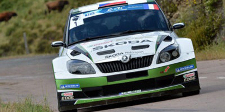 Jan Kopecky primero en un loco Tour de Corse