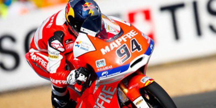 FP3 Moto3 en Le Mans para Folger con susto para Salom