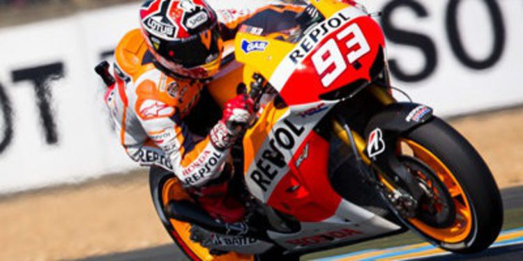 Márquez se lleva los FP3 en Le Mans pensando en Q2