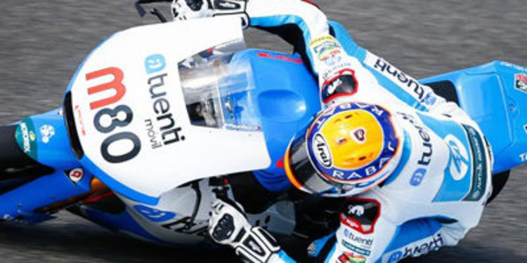 Tito Rabat se pone a punto en los FP3 de Moto2 en Le Mans