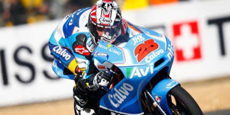Maverick Viñales poleman de Moto3 en Francia