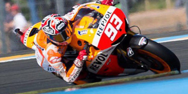 Marc Márquez consigue la pole del GP de Francia de MotoGP