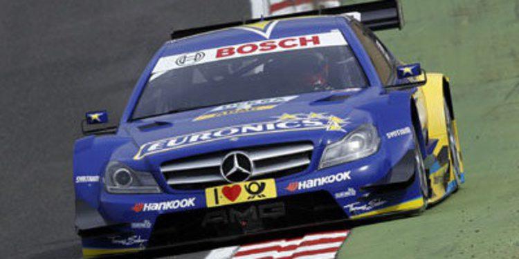 Rockenfeller pole DTM tras la descalificación de Tomczyk
