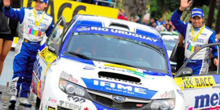 Marcos Ligato tiene que dejar el WRC