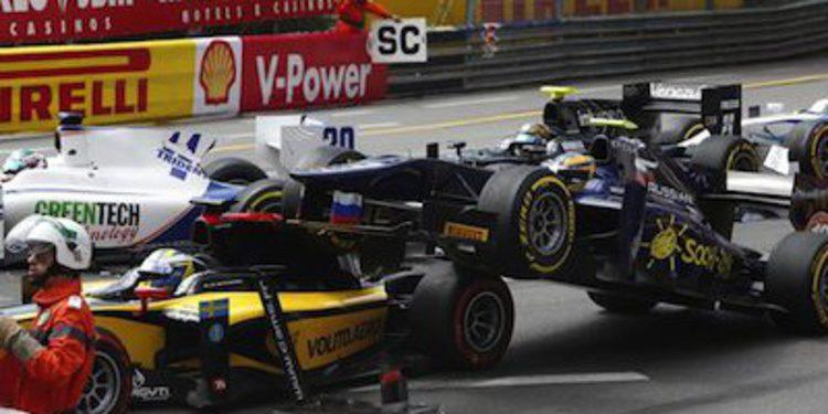 Johnny Cecotto, excluído para el sprint de Mónaco en GP2