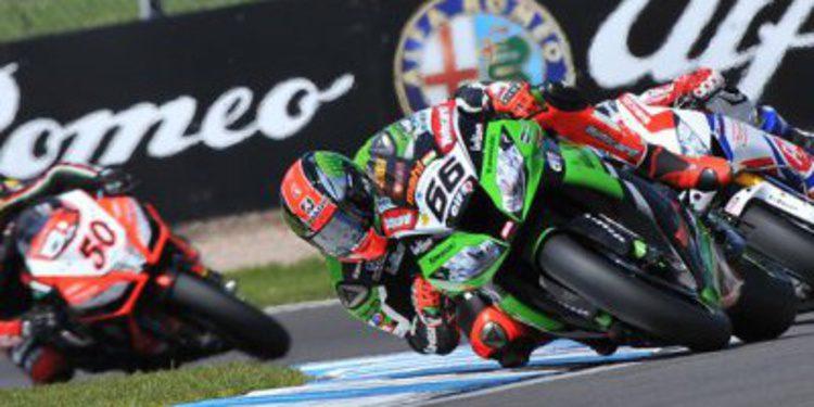 Superbike: Tom Sykes hace doblete en Donington Park