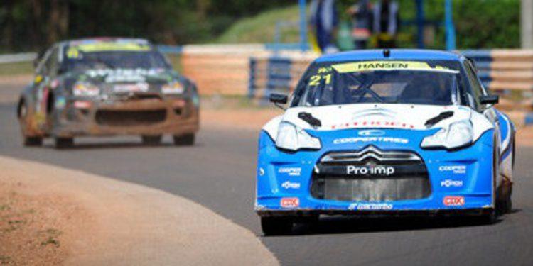 Timmy Hansen gana la cita del RallycrossRX en Hungría