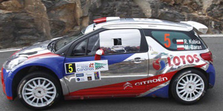 Un rally más para Robert Kubica en el ERC 2013