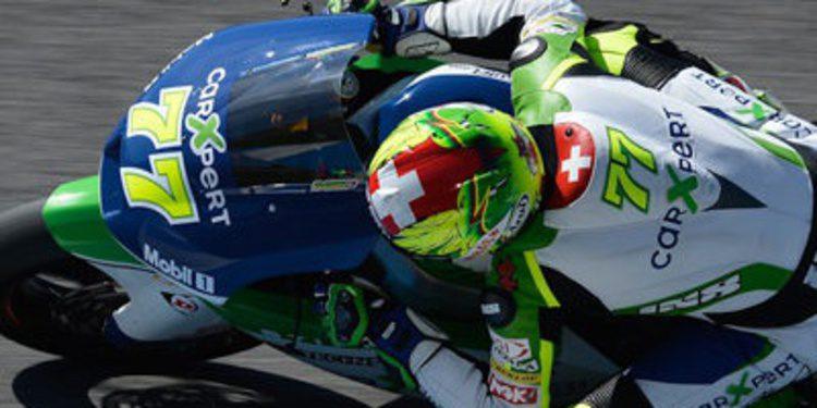 Dominique Aegerter, como rozar el podio en Moto2