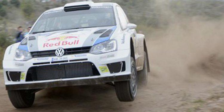 El Polo R WRC estrena freno de mano en Grecia