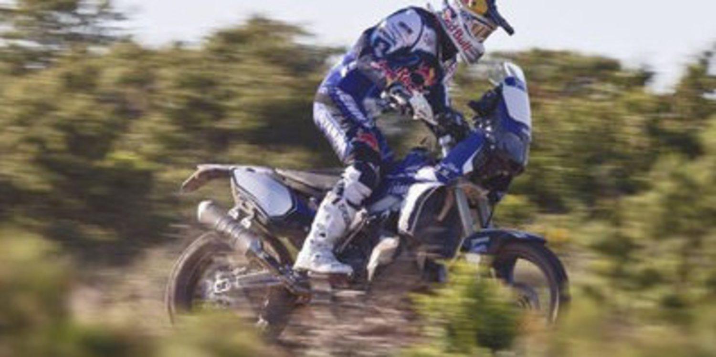 Cyril Despres con Yamaha para el Dakar 2014