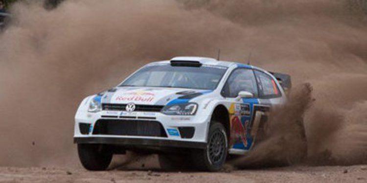 Sebastien Ogier domina la QS del Acrópolis Rally