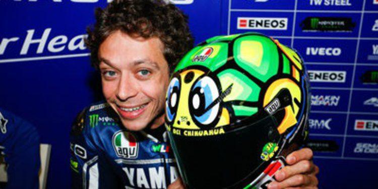 Rossi y Bautista, los dos lados del accidente en Mugello