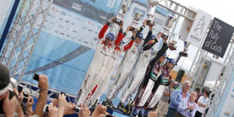 Así está el WRC 2013 tras el Acrópolis Rally