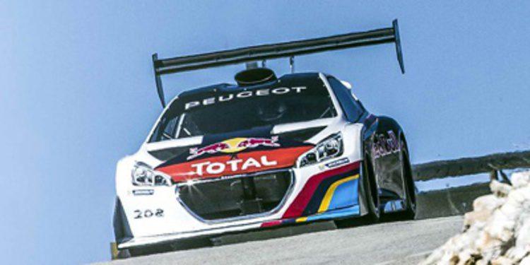 Peugeot 208 T16 Pikes Peak en 45 segundos