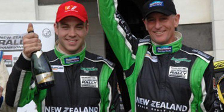 Hayden Paddon con un Fiesta S2000 en el Ypres Rally
