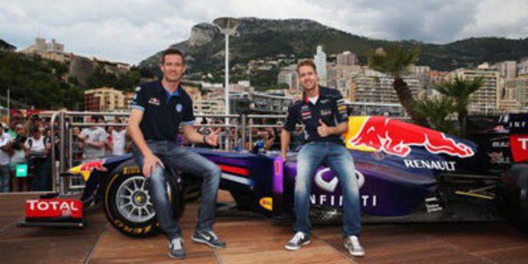Sebastien Ogier y Sebastien Vettel, cambio de cromos