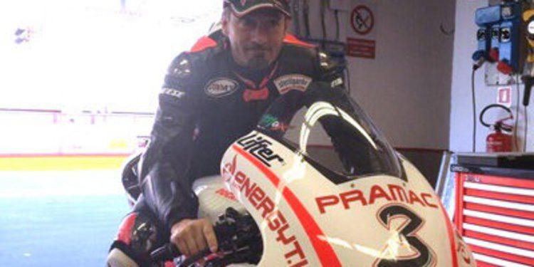 Max Biaggi se siente piloto gracias al Pramac Racing